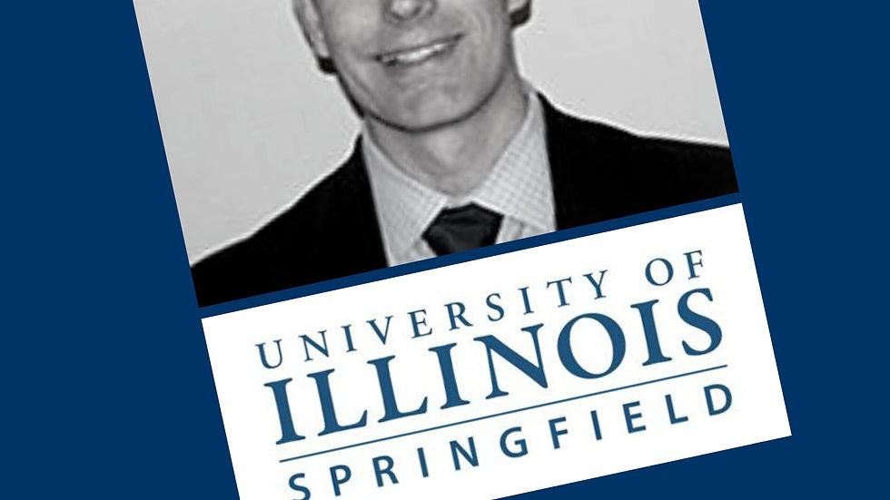 Dr. Travis Bland, UIS Leadership Hack