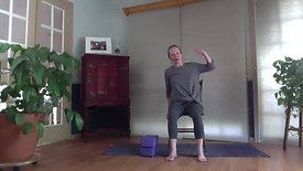 Simple Easy Chair Yoga