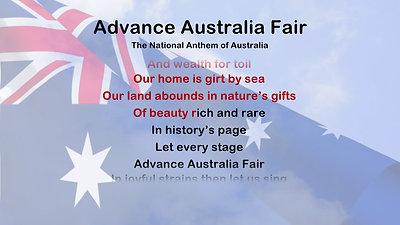 ADVANCE AUSTRALIA FAIR 1080