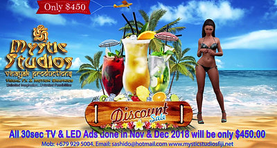 TV Ad Discount Sale
