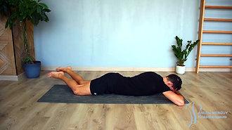 24 - Mobilisation lombaire sur le ventre (faire des ronds)