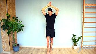 35 - Étirement du carré des lombes & gd dorsal 1 (debout)