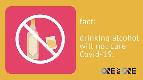 Fact: Alcohol & COVID-19