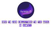 How to Add Collections to the Menu in Shopify