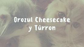 Orozul Cheesecake y Turrón