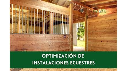 Optimización de espacios ecuestres