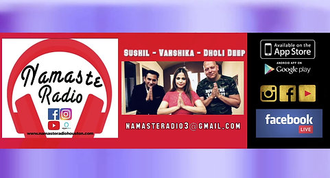 Namaste Radio Live - Saturday March 6th, 2021