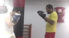 Treino Personalizado de Kick Boxing com Humberto Evora