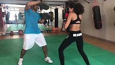 Ginasio Amadora_Humberto Evora e Debora_Kick Boxing