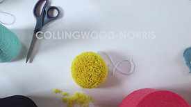 Collingwood-Norris | Pompom making