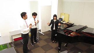 模擬授業「ボディパーカッション」國光先生