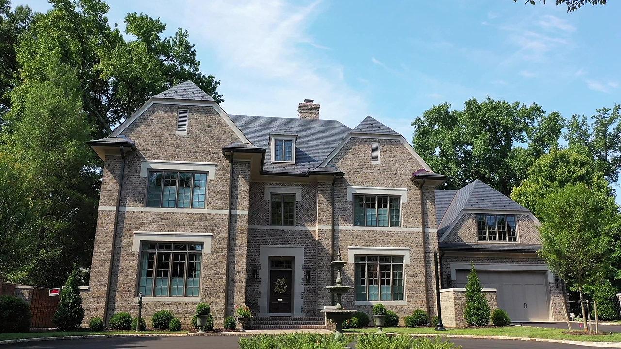 Unfading Black Slate Roofing System