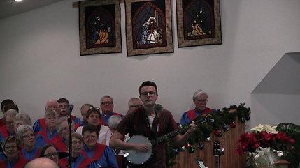 Luke sings Christmas must be tonight (The Band)