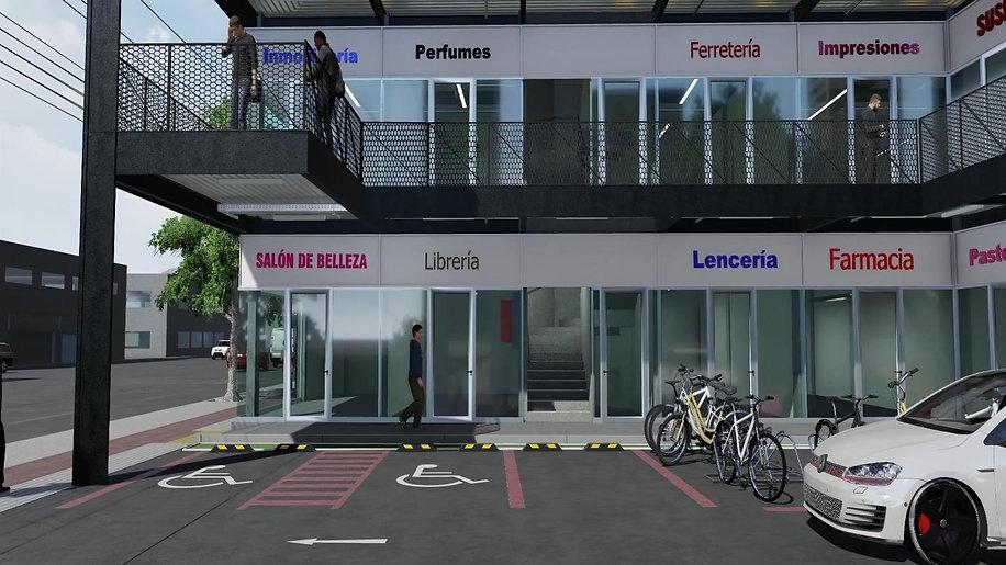 Strip Center / Inmobiliaria Puerto Center / San Miguel