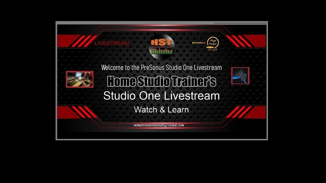 Studio One Livestream