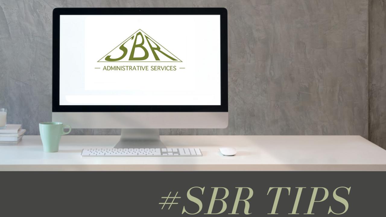 #SBR Tips