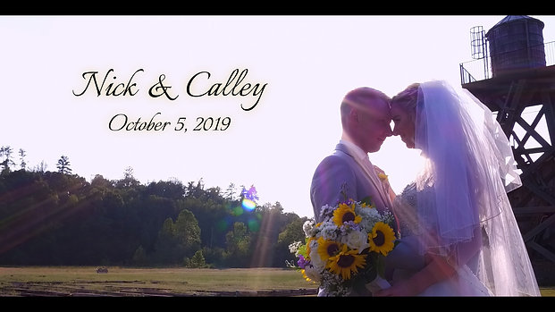 Pure Water Farms - Nick & Calley Sneak Peek Wedding Teaser