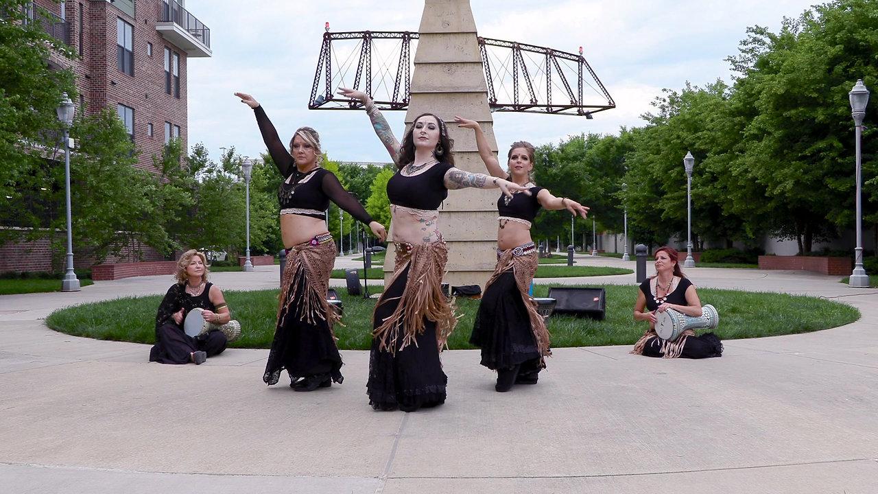 Tanasi Fusion Trio Dance Routine 2019