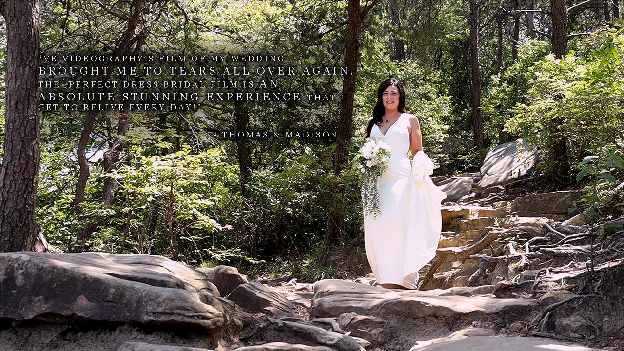 The Perfect Dress Bridal Film: Toole Wedding Teaser