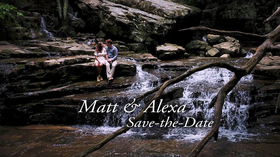 Matt & Alexa Cinematic Engagement Film