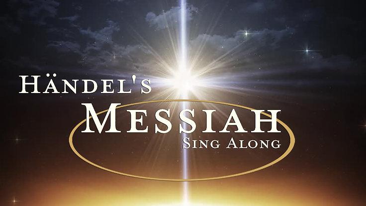 Händel's Messiah Sing Along - Overture: Sinfonia