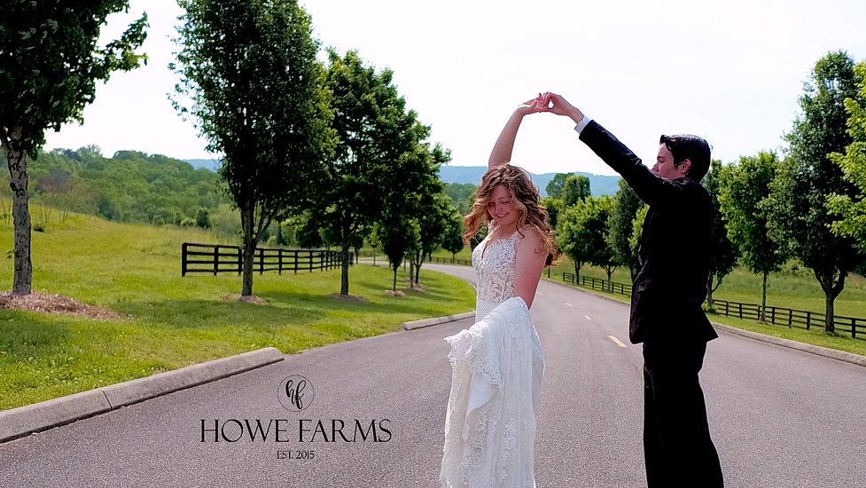 Howe Farms: Romantic Wedding Venue