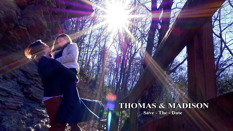 Thomas & Madison: Save The Date Film