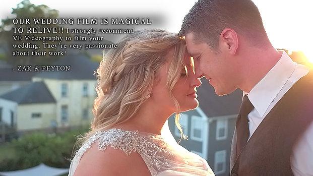 Zak & Peyton: Cinematic Wedding Trailer
