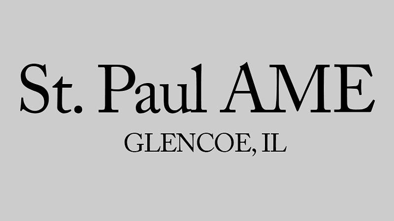 St. Paul AME: Live-Stream