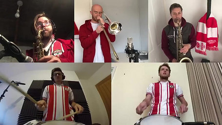 Welcome To The Jungle - Saints Brass