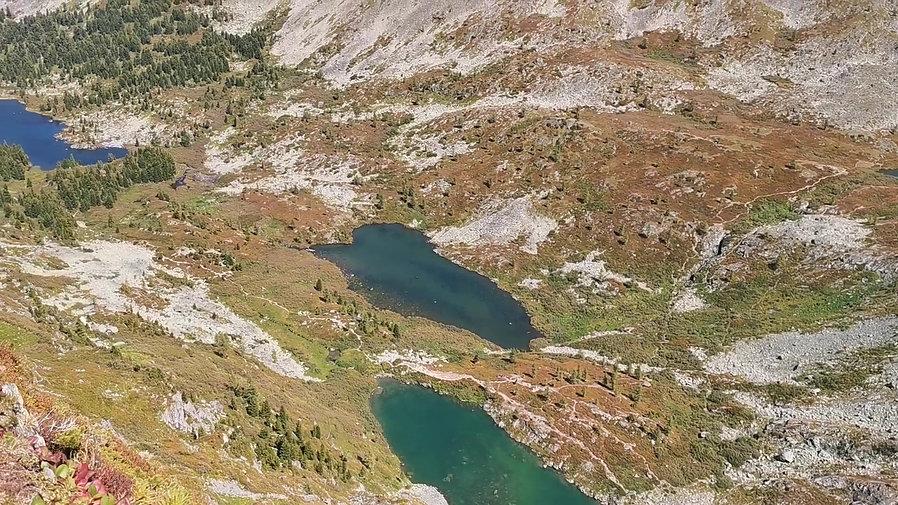 Вид на Каракольские озера