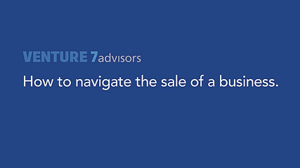 How to navigate the sale of a business