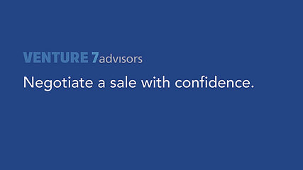 Negotiate a business sale with confidence