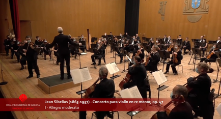 Violin concerto in D minor, Jean Sibelius