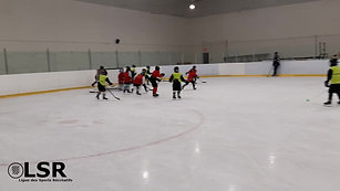 montage hockey-glace Match St-Denis Vs East Angus