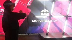 VR fashion world experience