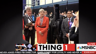 Prime Minister Theresa May & Lord Buckethead
