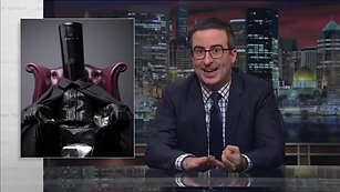 """Last Week Tonight"" & Lord Buckethead"
