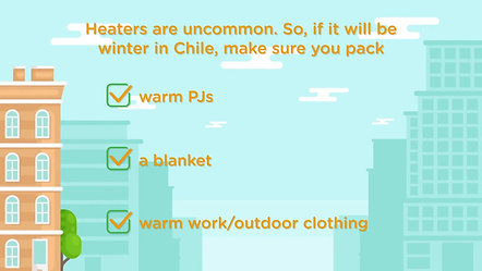 Weather & Packing for Chile