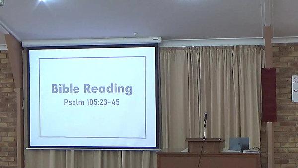 Sunday Worship - 11 April