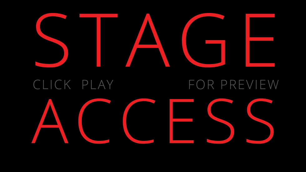 Stage Access Intro