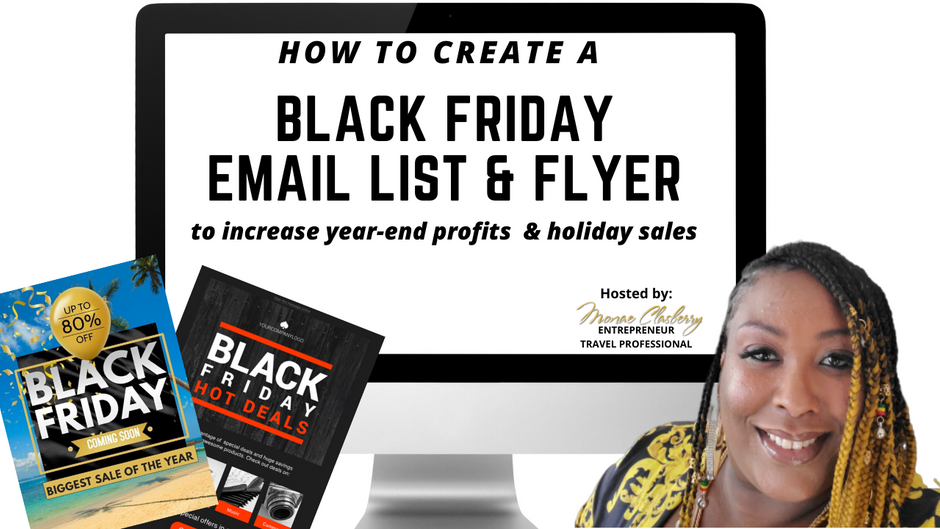 How To Create An Email List & Flyer To Increase Profits and Holiday Sales
