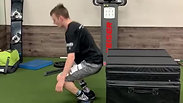 Box Jump Forward and Backwards