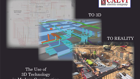 Calvi Electric Company 3D Construction Design