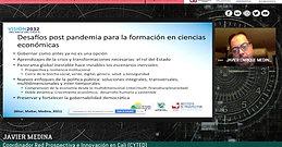 Ciclo de tertulias Prospectiva de las profesiones en ciencias económicas. Región pacífico.