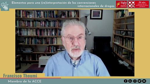 Presentación del libro Elementos para una (re) interpretación de las convenciones internacionales de drogas