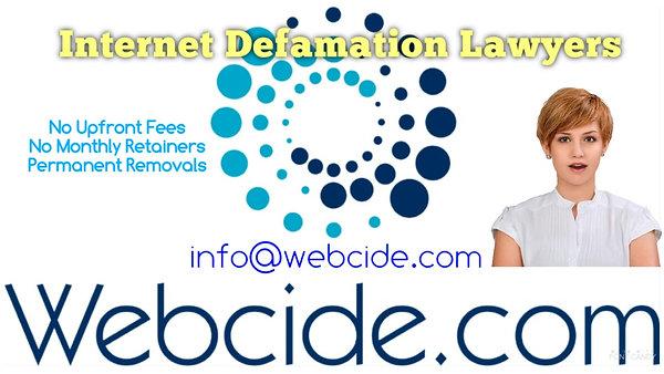Internet Defamation Lawyers