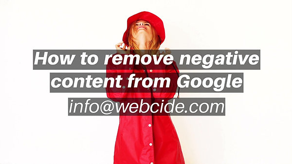 Remove Negative Search Results from Google