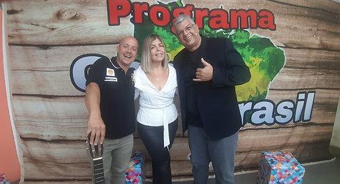 Tuca Bustamante no Programa Gente Brasil