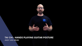 Tai Chi - Hands Playing Guitar Posture